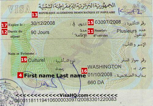 Algeria Visa - Application, Requirements | VisaHQ
