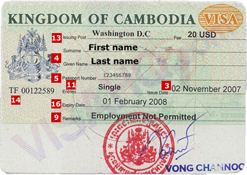 Cambodia Visa - Application, Requirements | VisaHQ