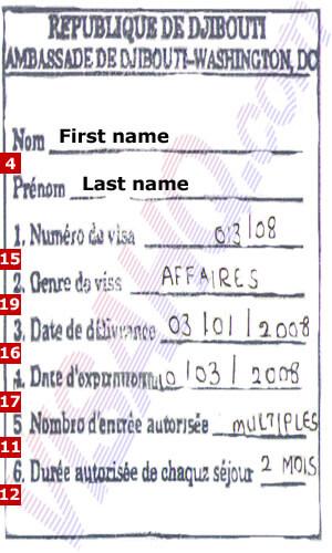 Djibouti Visa - Application, Requirements | VisaHQ