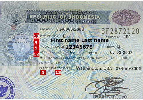 Indonesia Visa Application Requirements Visahq