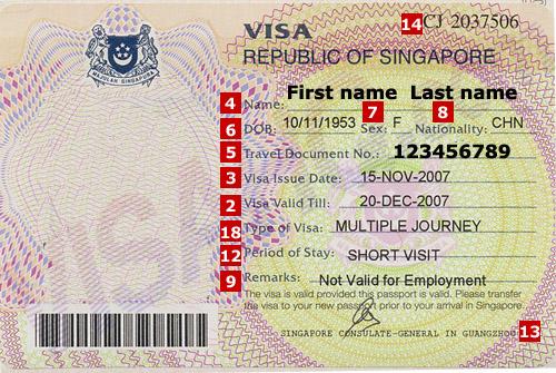 Singapore Visa Application Requirements Visahq
